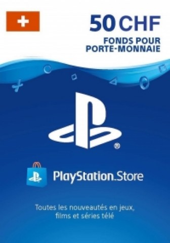 PSN Card 50 CHF (Suisse) - Playstation Network