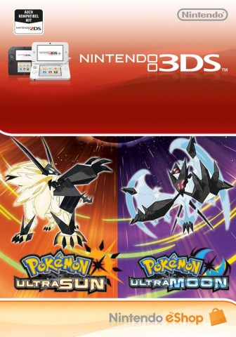 Pokemon Ultra Soleil et Pokemon Ultra Lune - Digital Ultra Dual Edition - eShop Code Bundle