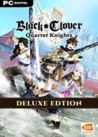 Black Clover Quartet Knights - Deluxe Edition
