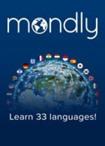 Mondly Premium 33 langues - Abonnement 1 an