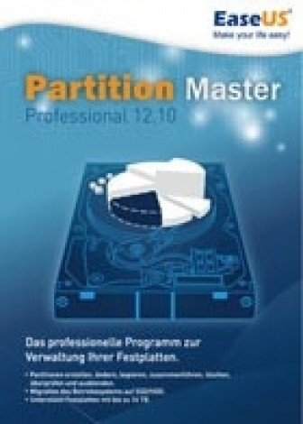 EaseUS Partition Master Professional 12