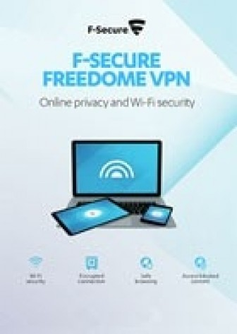 F-Secure FREEDOME VPN - 1 an