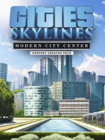 Cities: Skylines - Content Creator Pack: Modern City Center