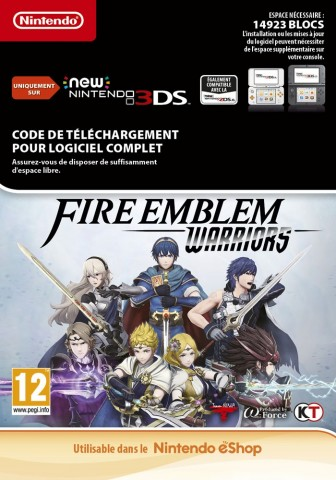 Fire Emblem Warriors - New 3DS eShop Code