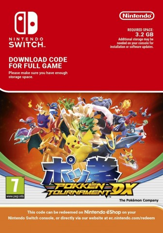 Pokemon Tekken DX - Switch eShop Code