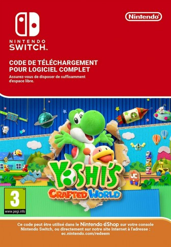 Yoshi's Crafted World pour Nintendo Switch  - eShop Code