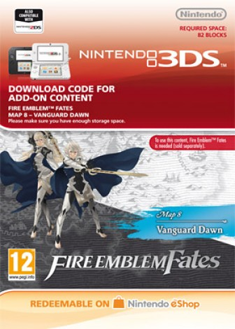 Fire Emblem Fates: Map 8 Vanguard Dawn DLC