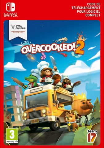OVERCOOKED! 2 - Nintendo Switch Code