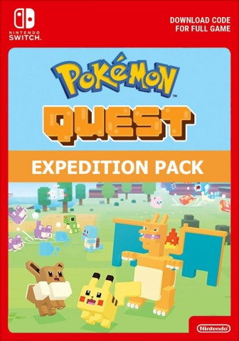 Pokemon Quest: Lot d'Aventurier - Switch eShop Code