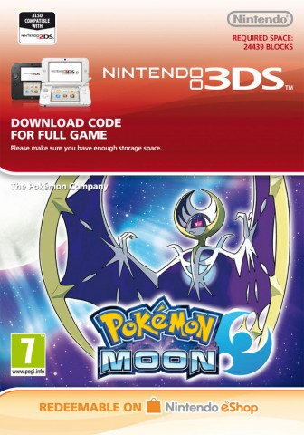 Pokemon Moon - eShop Code