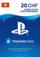 PSN Card 20 CHF (Suisse) - Playstation Network