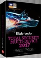Bitdefender Total Security Multi-Device 2017 - Abonnement 3 ans