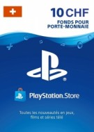 PSN Card 10 CHF (Suisse) - Playstation Network