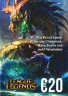League of Legends Gift Card 20 Euro