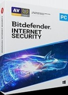 Bitdefender Internet Security - 3 PC - Abonnement 1 an