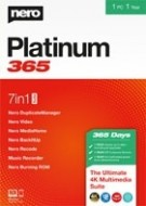 Nero Platinum 365 - 1 an