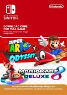 Super Mario Odyssey and Mario Kart 8 Deluxe - eShop Code Bundle