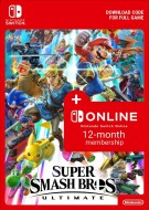 Super Smash Bros. Ultimate + 365 Jours Nintendo Switch Online - eShop Code Bundle