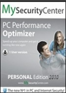 MySecurityCenter PC Performance Optimizer