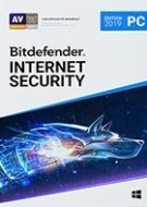 Bitdefender Internet Security 2019 - Abonnement 1 an