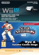Super Smash Bros. for Wii U - Ryu + stage Suzaku Castle